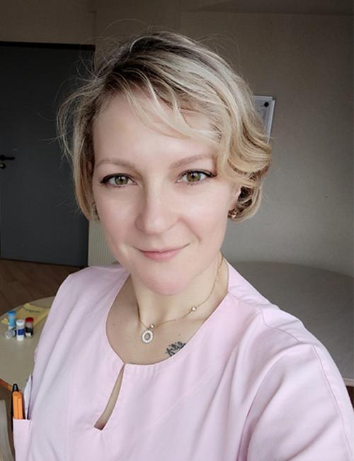 Irina Geneau, professeure de langue russe pour l'association russophone de Cornouaille