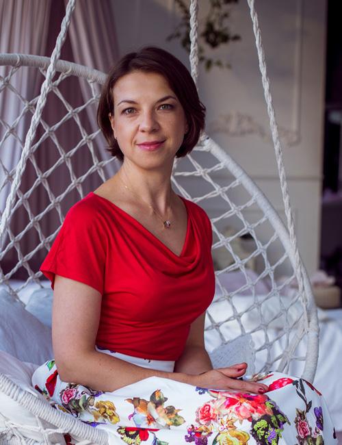 Lena Bodéré, trésorière de l'association russophone de Cornouaille
