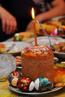 Koulitch, gâteau aux raisins secs Association Russophone de Cornouaille