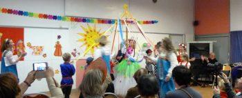 Maslenitsa 2019, fête russe  organisée par l'association russophone de Cornouaille à Quimper