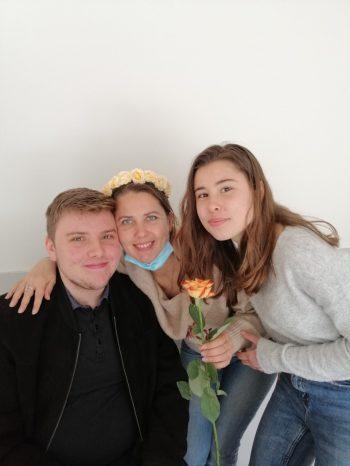 Maslenitsa 2021 de l'association Russophone de Cornouaille au centre des Abeilles de Quimper