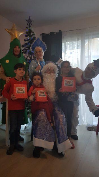 Noël russe à Quimper avec l'association russophone de Cornouaille