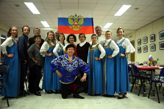 Soirée découverte de la Russie repas russe à Quimper - événement autour de la culture russe organisé par l'association Russophone de Cornouaille