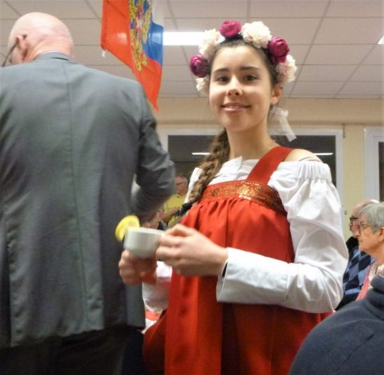 Soirée découverte de la Russie repas russe à Quimper organisé par l'association Russophone de Cornouaille
